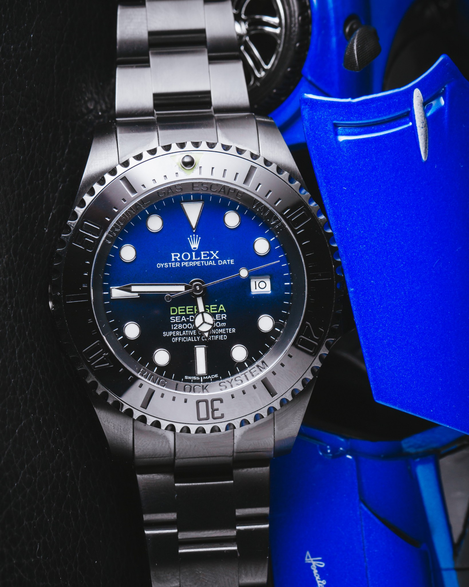 rolex deep sea blue