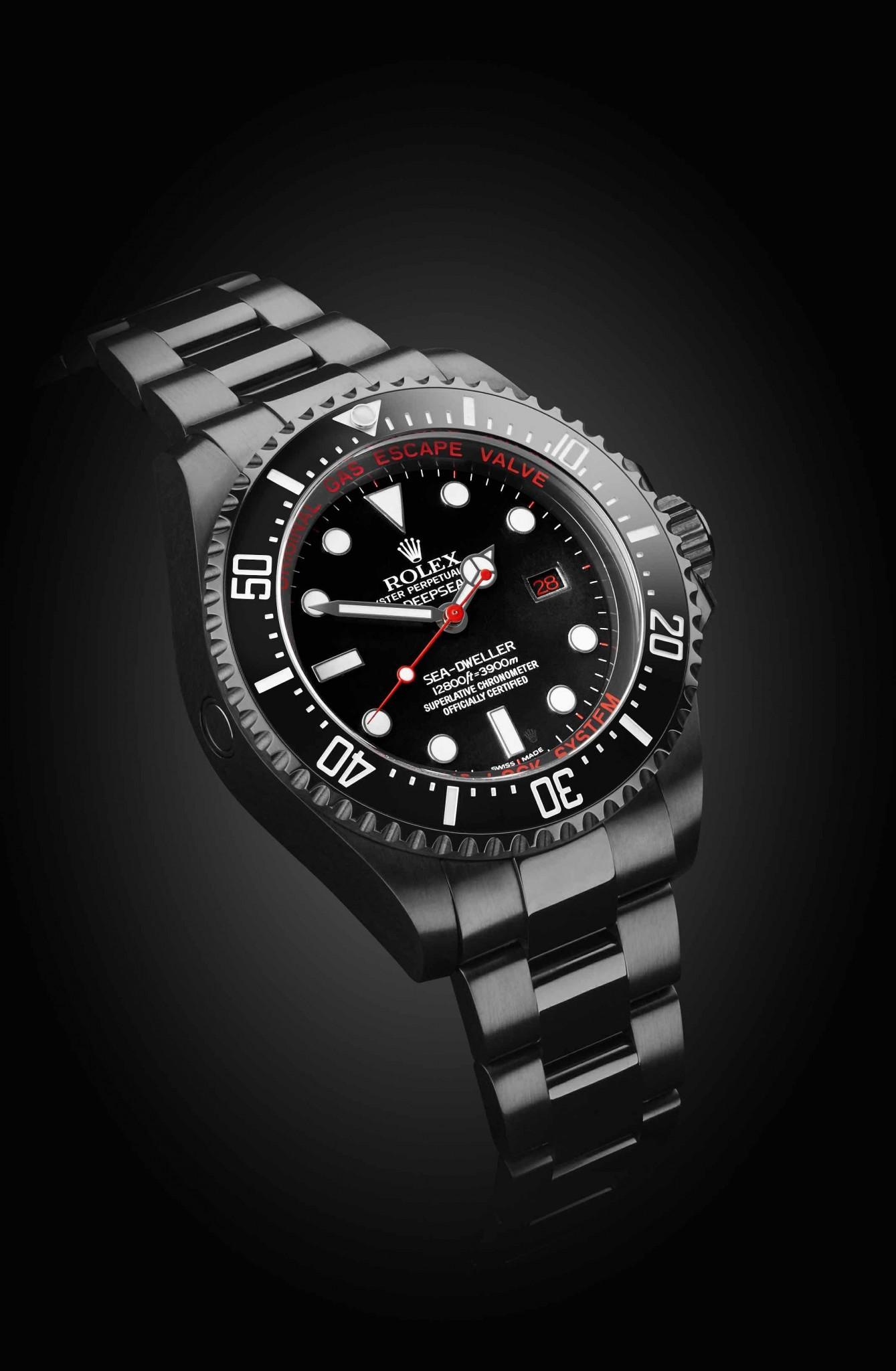 Rolex Deep Sea Deep Red Titan Black