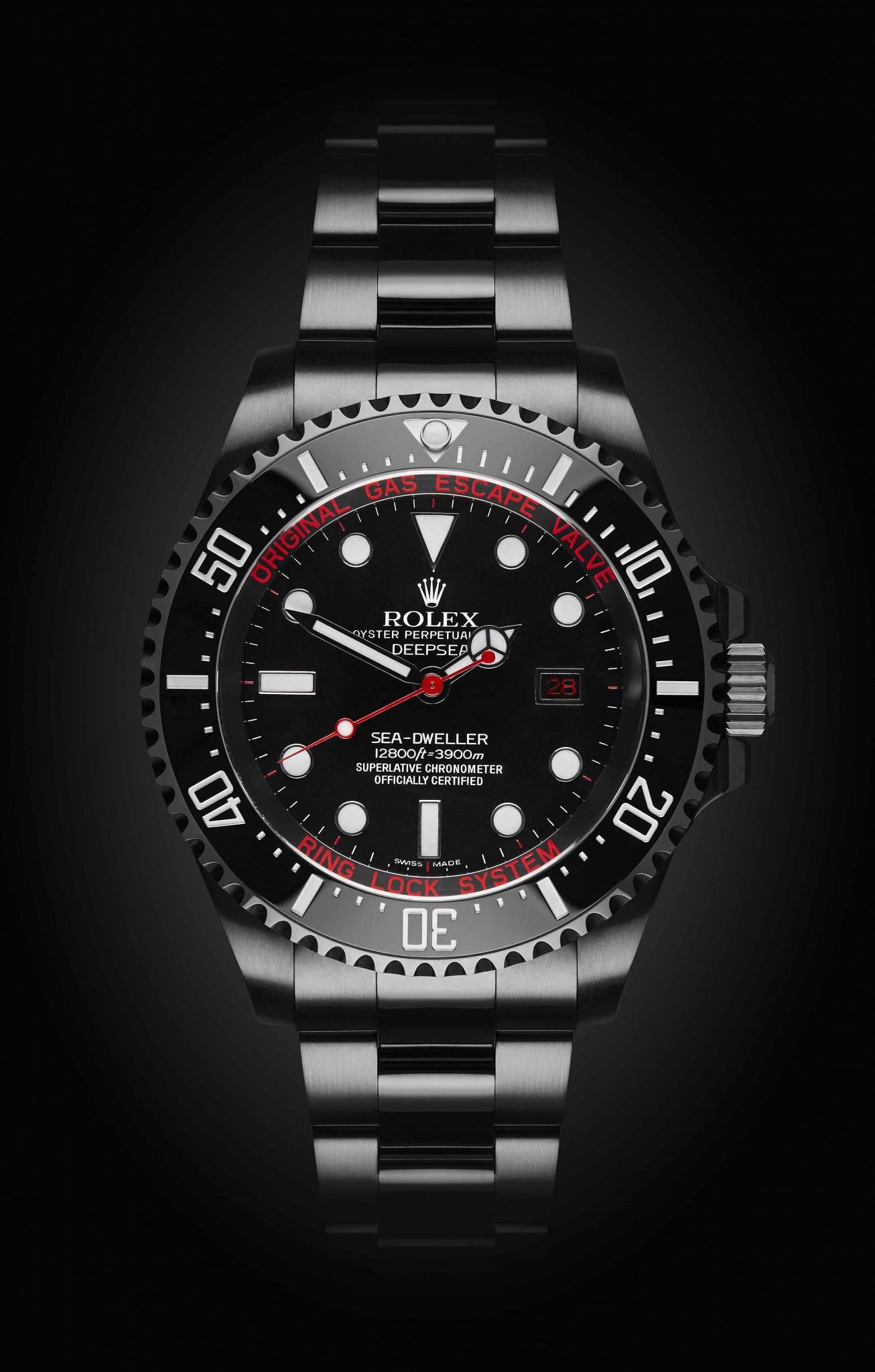 Rolex Deep Sea: Deep Red