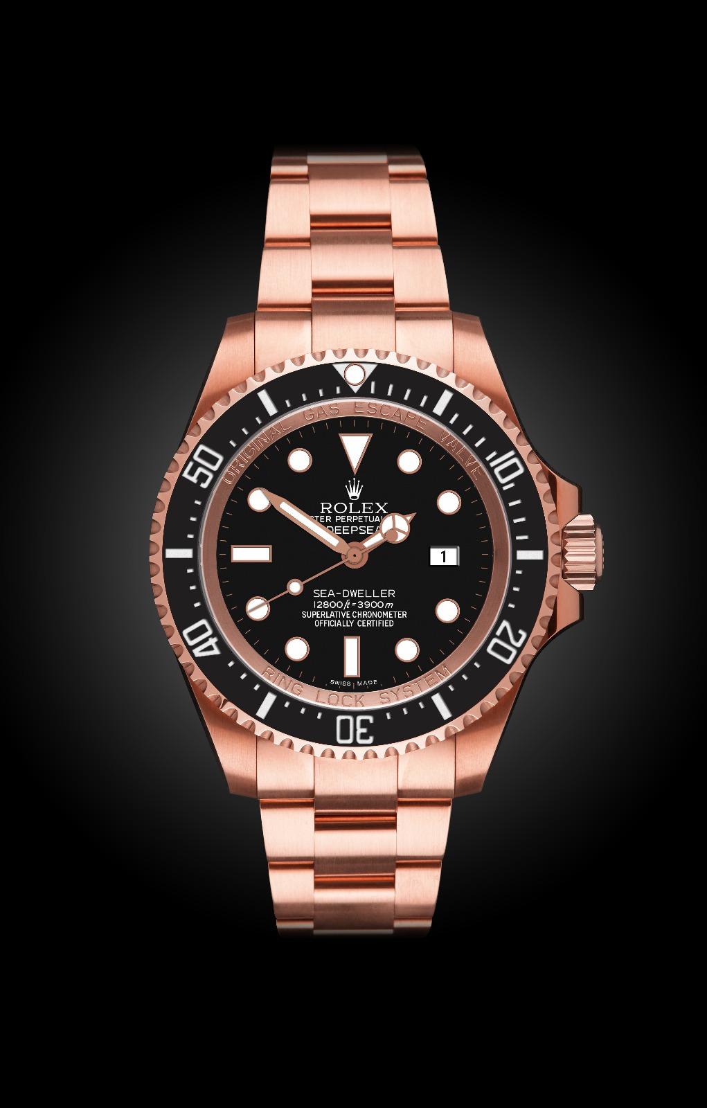 Rolex Deep Sea Ros 233 Oro Titan Black