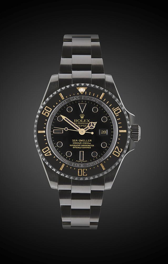 Rolex Deep Sea Oro Titan Black