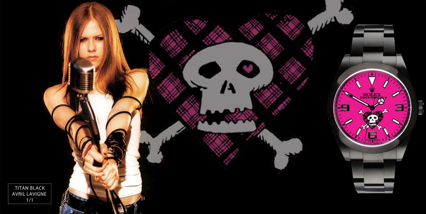 Avril Lavigne 1/1 Custom Designed Explorer