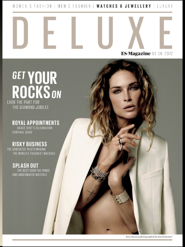 ES Magazine DELUXE WATCHES & JEWELLERY  Recommend TITAN BLACK
