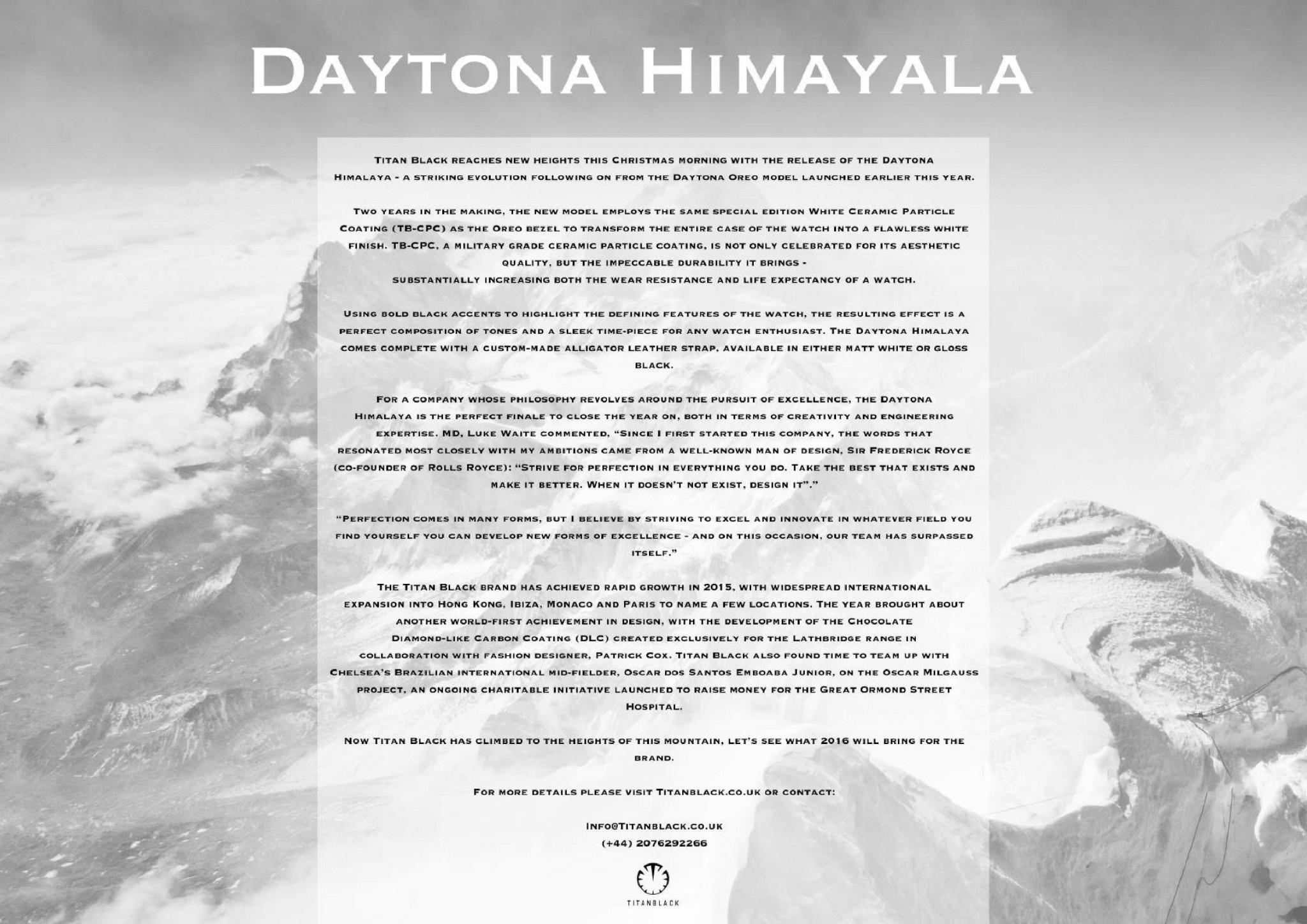 DAYTONA HIMALAYA