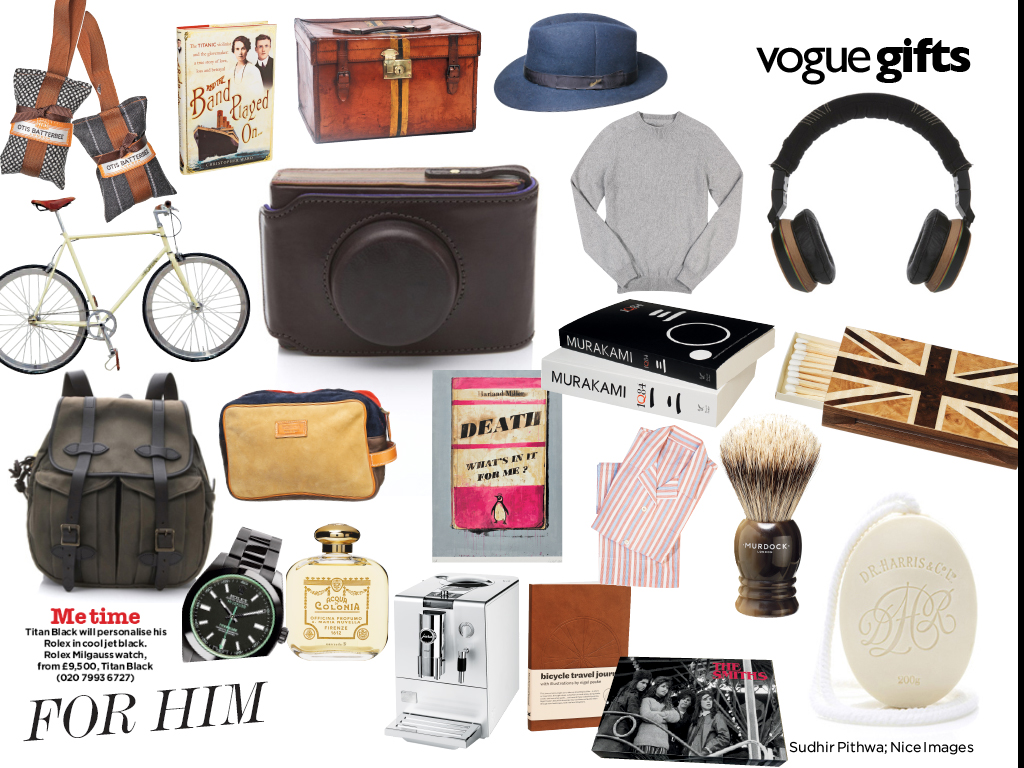 Titan Black in Vogue 2011 What to Buy Him