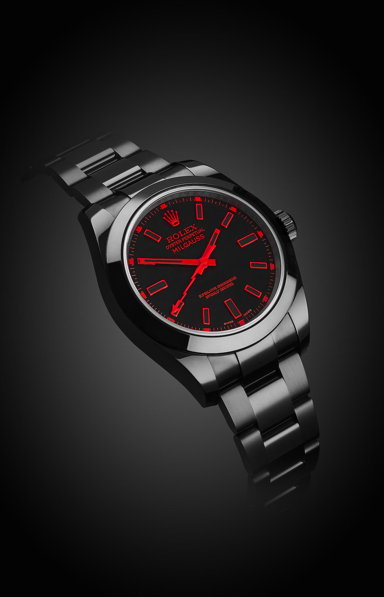 Rolex Milgauss Red Knight