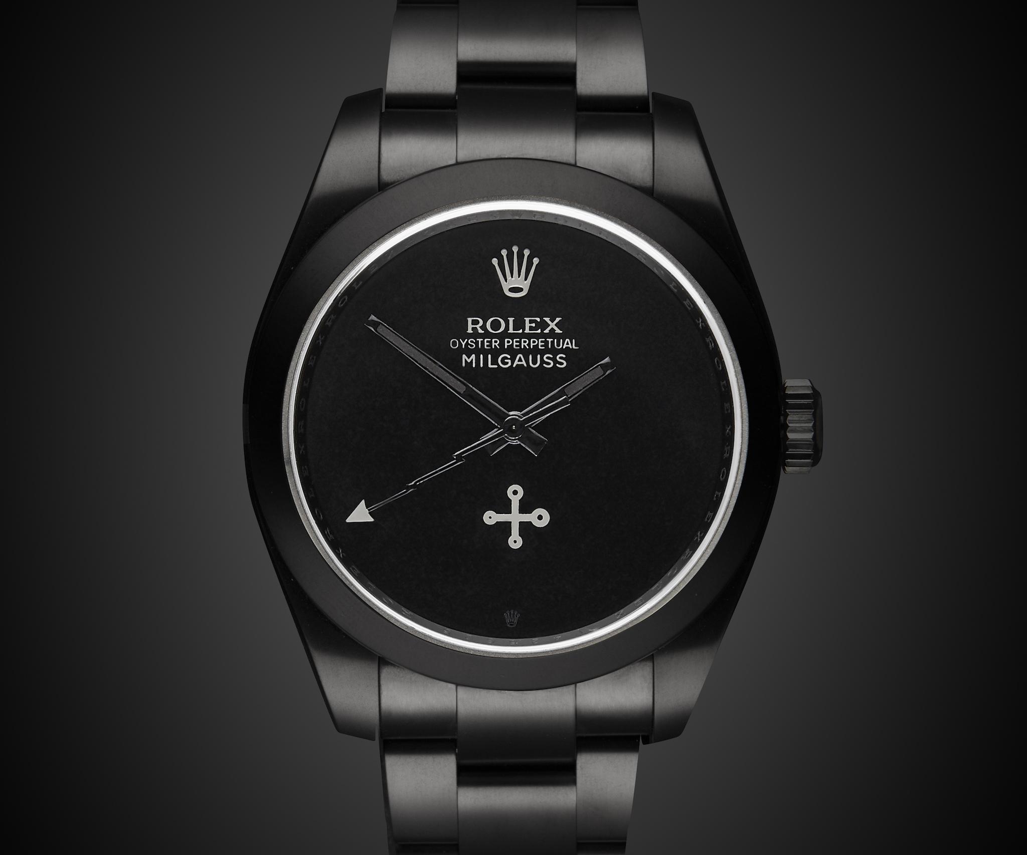 Rolex Oyster Perpetual Milgauss Black
