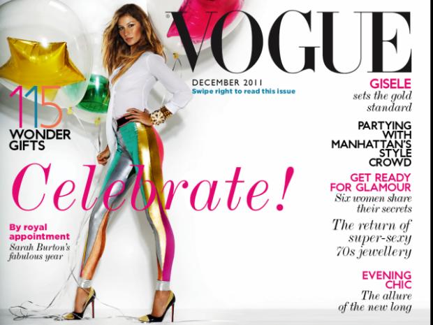Vogue December 2011 'Vogue Knows Best'