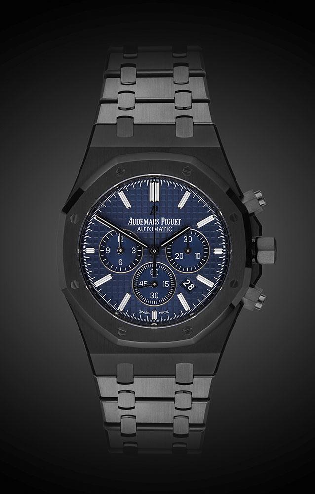 Audemars Piguet Royal Oak Blue Titan Black