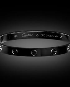Cartier Love Bracelet Titan Black Black DLC London