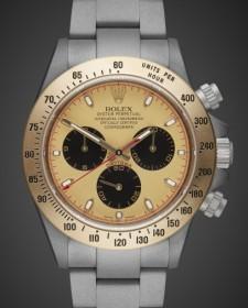 Titan Black Rolex Daytona Aurora MAB II Finish Special London Chronograph Gold Unique