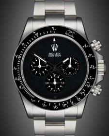 Rolex Daytona: Newman Black - Arabic Edition