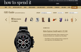 Titan Black Rolex Daytona (Stealth) Financial Times