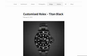 Titan Black Featured in Pieces of Black