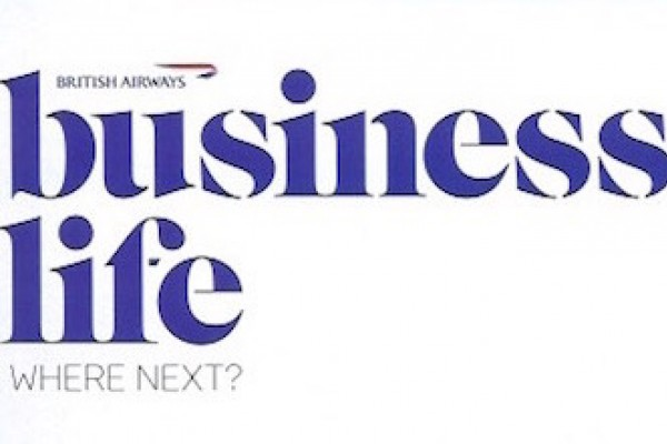 British Airways Business Life Patrick Cox