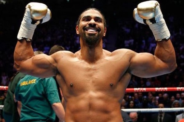 TITAN BLACK SHOWCASED AT DAVID HAYE KNOCK-OUT!