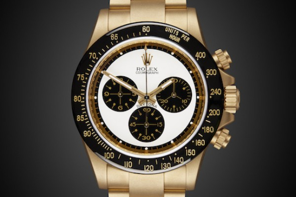 Rolex Daytona Paul Newman Class Luxury Gold Style Fashion Panda Dial Art Deco font history future