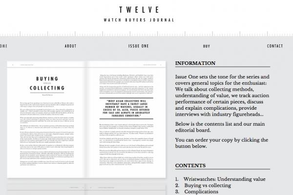 Titan Black founder Luke Waite writes an article for Twelve publication