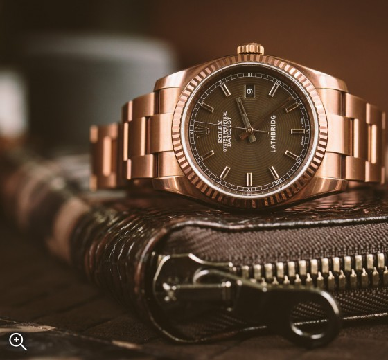 Titan Black Lathbridge Datejust by Patrick Cox