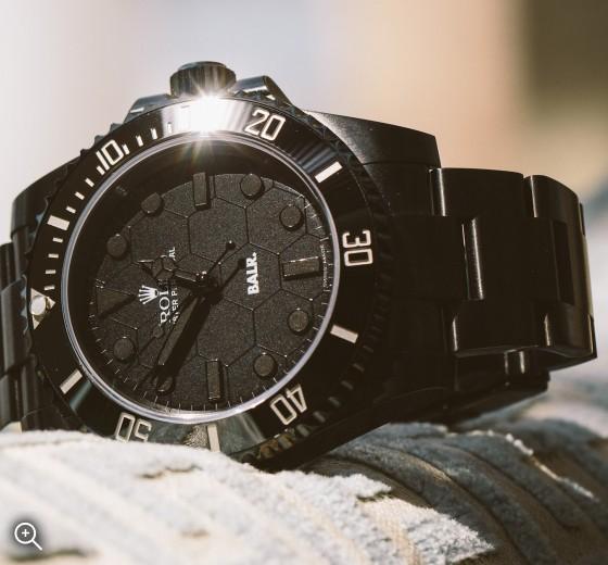BALR X Rolex Non-Date Submariner Titan Black DLC