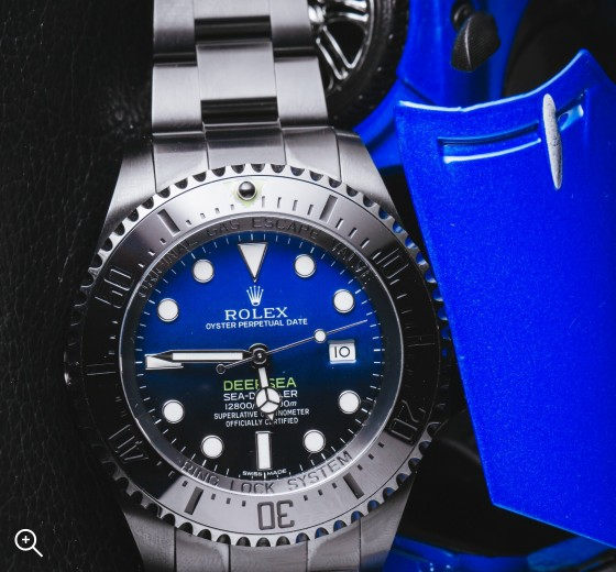 Rolex Deep Sea Sea Dweller Deep Blue Titan Black DLC Coating Black