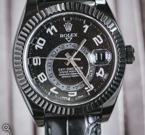 Rolex Sky Dweller Night Sky Titan Black DLC Coating Black