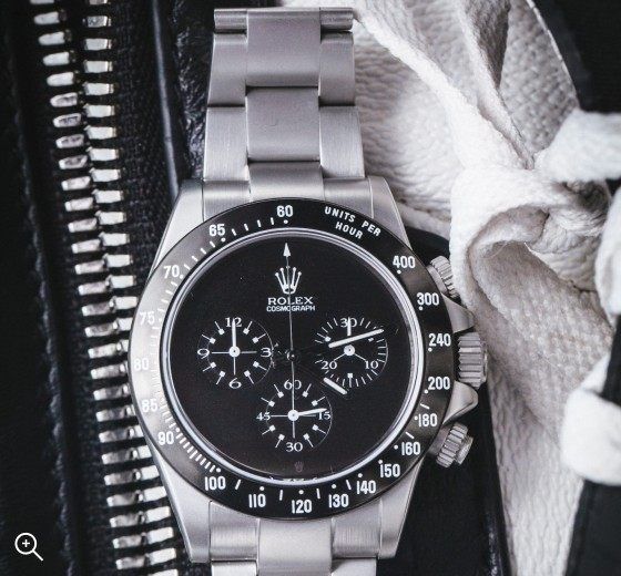 Rolex Daytona Chronograph Paul Newman Dial Black MAB II Sandblast Titan Black
