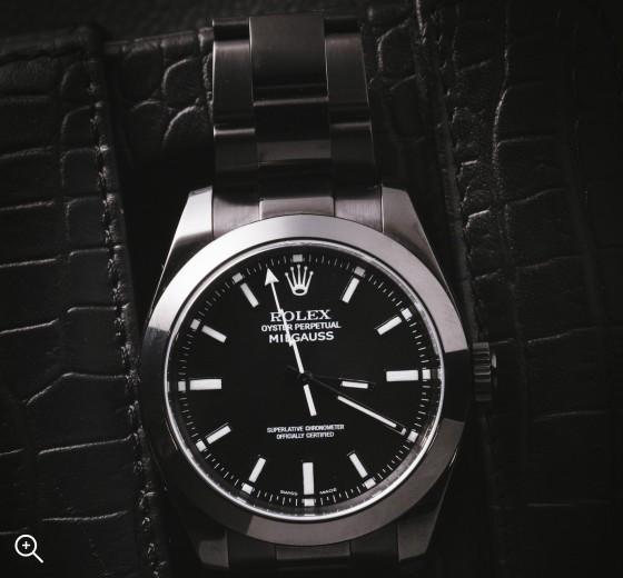 Black DLC Rolex Milgauss: Nero Titan Black Bespoke Design