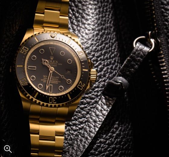 Titan Black Rolex Deep Sea: Gold DLC