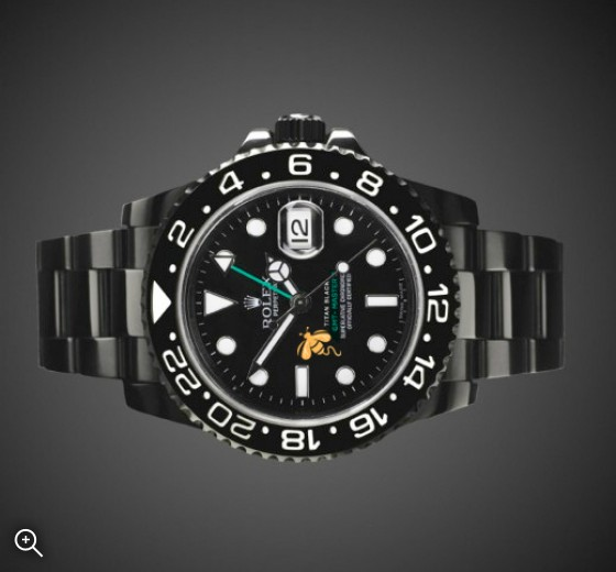 Rolex GMT-Master II: Aspinall's Foundation Edition - TBlack DLC Coating
