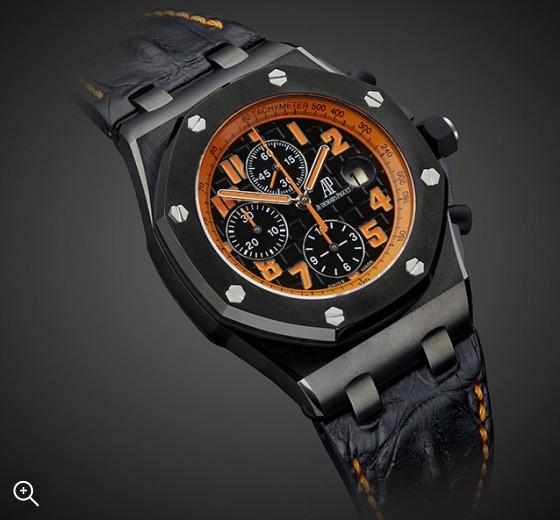 Titan Black Audemars Piguet Offshore Arancio