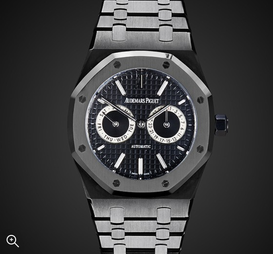 Titan Black Audemars Piguet Day Date MK1