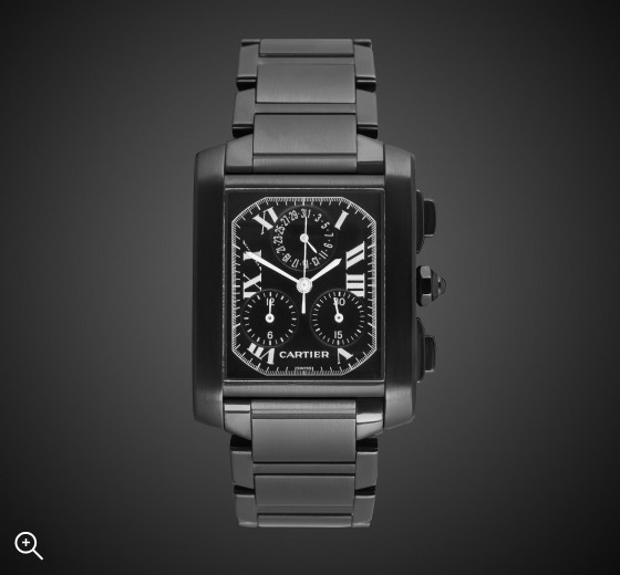 Cartier Chrono Nero DLC PVD BLACK ROLEX