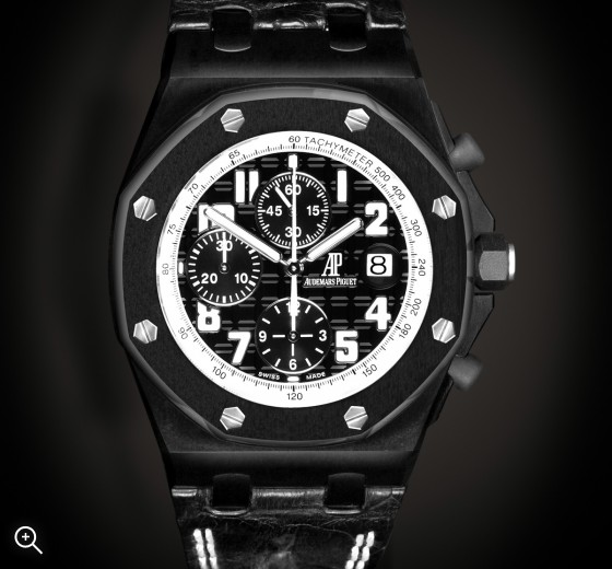 Titan Black Audemars Piguet Offshore Bianco MK1