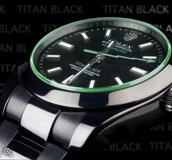 TITAN BLACK Rolex Milgauss (Envy) DLC ROLEX BLACK PVD