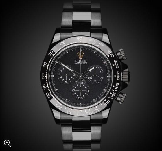 Rolex Daytona: Black Concept