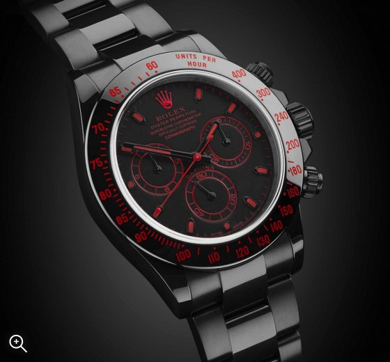 Rolex Daytona: The Red Titan Titan Black DLC