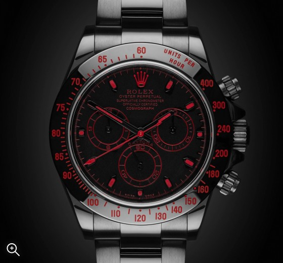 Rolex Daytona: Red Titan Titan Black DLC
