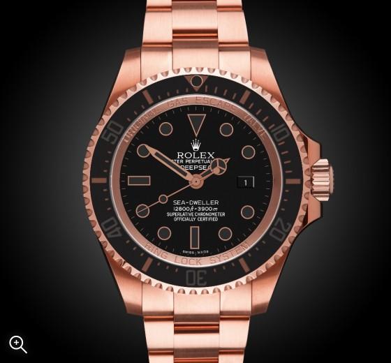 Rolex Deep Sea Rosé Oro Nero - TBlack Rose Gold Coating