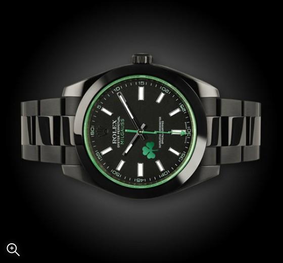 Titan Black Rolex Milgauss: Panathanaikos