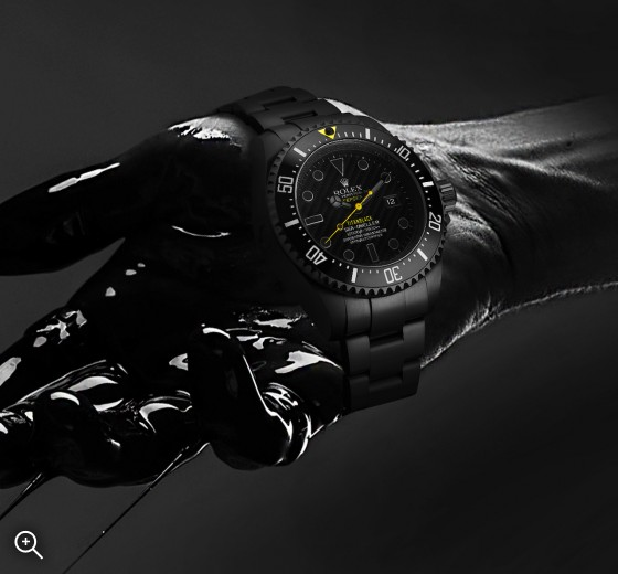 Rolex Deep Sea: Hazard Titan Black DLC