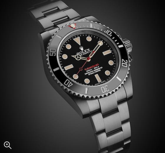 Rolex Non-Date Submariner Heritage Titan Black DLC Coating