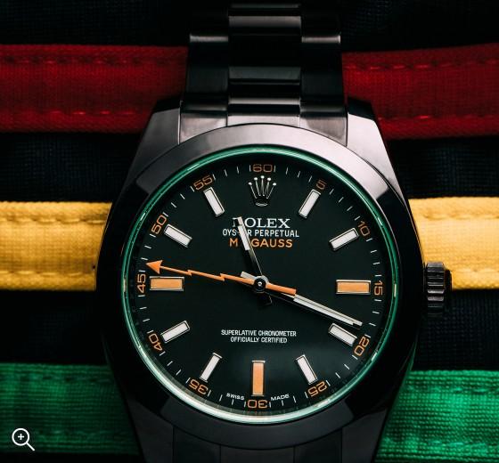 Rolex Milgauss: Bolt