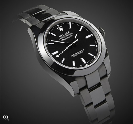 Rolex Milgauss: Nero
