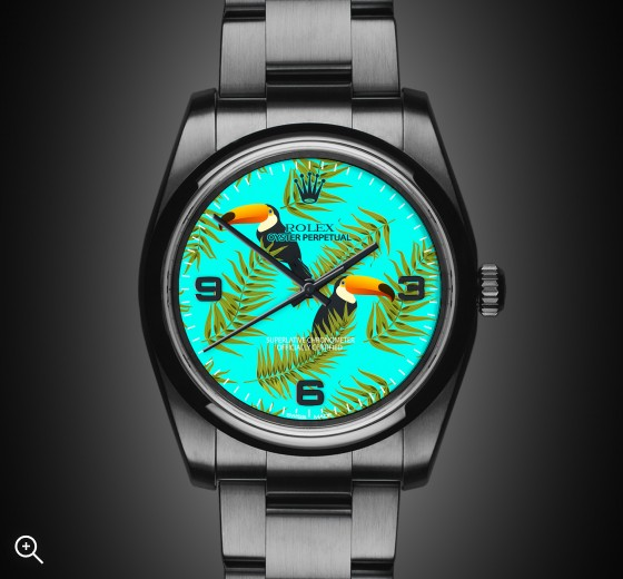 Oyster Perpetual: Tropical