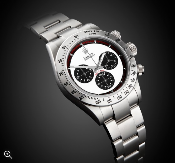 Rolex Daytona Chronograph Paul Newman Dial Steel Sandblast MAB finish Titan Black London
