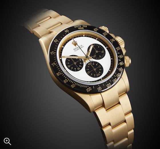 Rolex Daytona Paul Newman Yellow Gold Oro Sandblast Titan Black
