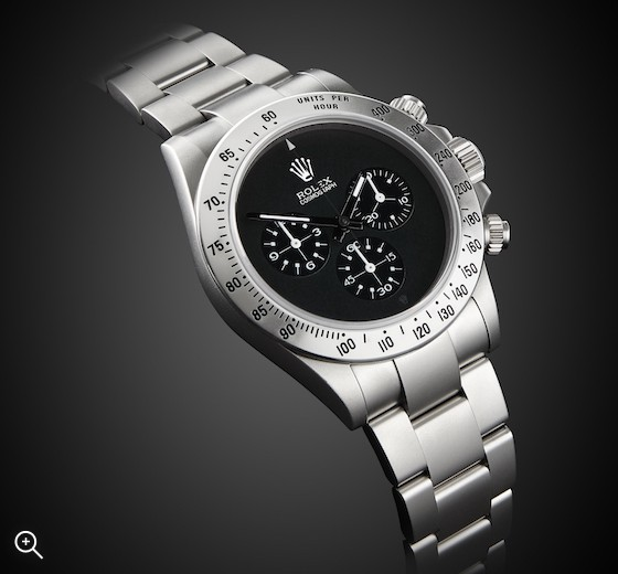 Rolex Daytona Chronograph Paul Newman Dial Steel Sandblast MAB finish Titan Black London