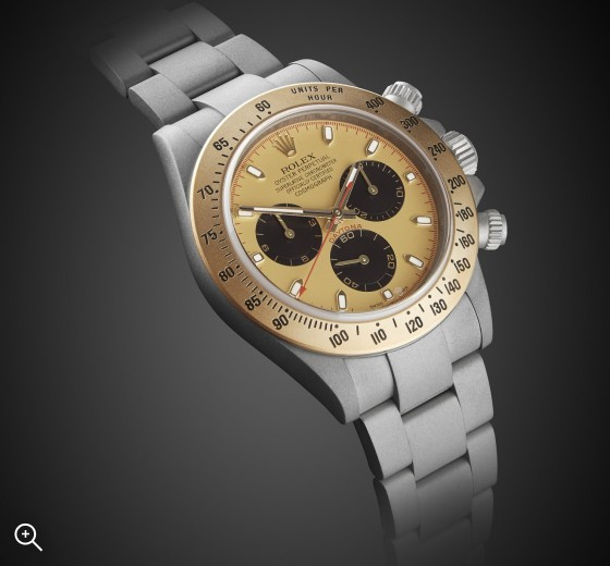 Titan Black Rolex Daytona Aurora MAB II Finish Special London Chronograph Gold Unique