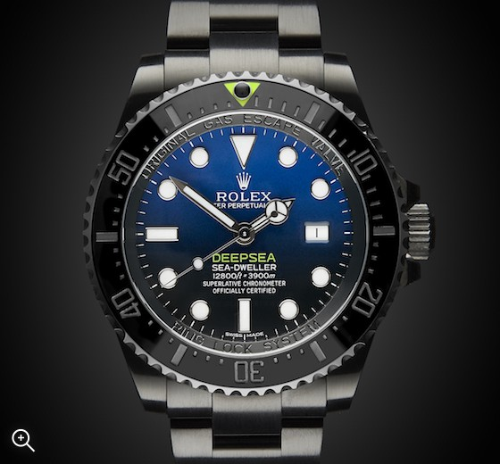 Rolex Deep Sea Deep Blue Titan Black